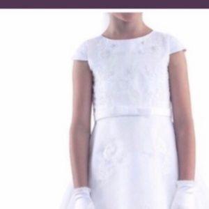 Us Angels White wedding or communion Dress